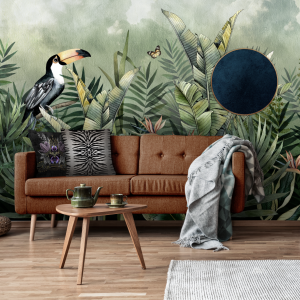 Cloud Forest Wall Mural