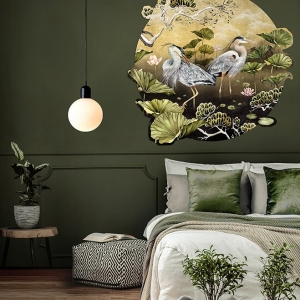 Golden Orient Wall Decal